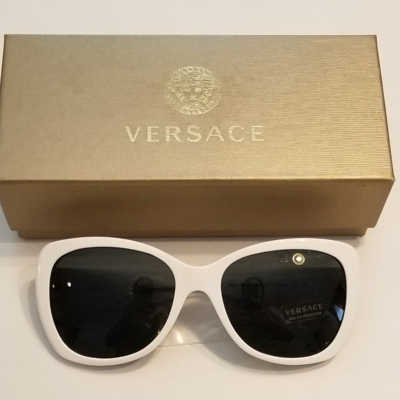 ea53ddf50ee7 Versace Sunglasses White   Gold New Today Only. M 5bf84e5d03087c99838aa6c7.  Other Accessories ...
